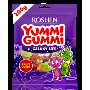 Цукерки желейні ROSHEN Yummi Gummi Galaxy Life ВКФ 200г/13шт