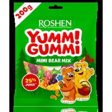Цукерки желейні ROSHEN Yummi Gummi Mini Bear Mix ВКФ 200г/15шт