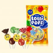 Карамель ROSHEN LolliPops з коктейльними смаками РЦ 0.92кг/9пак