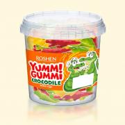 Цукерки желейні ROSHEN Yummi Gummi Crocodile ВКФ 0.6кг/6пак