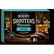 Цукерки Roshen Shooters з ромовим лікером ВКФ 150г/10шт