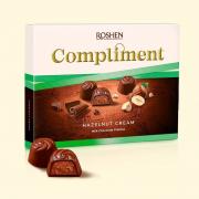 Цукерки Roshen Compliment Hazelnut cream ВКФ 122г/10шт