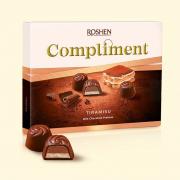 Цукерки Roshen Compliment Tiramisu ВКФ 120г/10шт