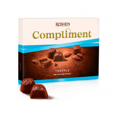 Цукерки Roshen Compliment Truffle ВКФ 120г/10шт