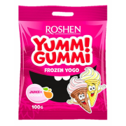 Цукерки желейні ROSHEN Yummi Gummi Frozen Yogo ВКФ 100г/22шт