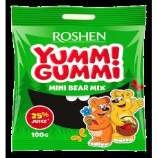 Цукерки желейні ROSHEN Yummi Gummi Mini Bear Mix ВКФ 100г/22шт