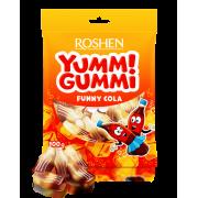 Цукерки желейні ROSHEN Yummi Gummi Funny Cola ВКФ 100г/22шт