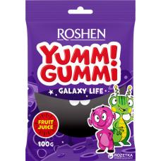 Цукерки желейні ROSHEN Yummi Gummi Galaxy Life ВКФ 100г/22шт