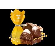 Цукерки ROSHEN Монблан з шоколадом та сезамом  ВКФ 1кг/4пак