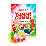 Цукерки желейні ROSHEN Yummi Gummi Mini Party Mix ВКФ 200г/13шт