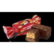 Цукерки Roshen Candy Nut м'яка карамель з арахісом ВКФ 1кг/8пак PT