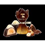 Цукерки ROSHEN Монблан з цільним лісовим горіхом ВКФ 1кг/4пак