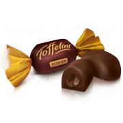 Цукерки ROSHEN Toffelini з шоколадною начинкою ВКФ 1кг/6пак