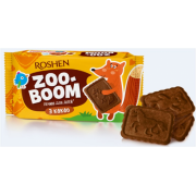 Печиво ROSHEN Zoo-boom з какао, для дітей 68г/30шт