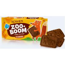 Печиво ROSHEN Zoo-boom з какао, для дітей 68г/40шт