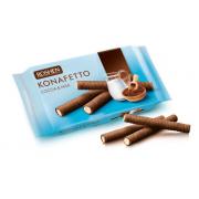 Вафельні трубочки ROSHEN Konafetto какао та молоко ВКФ 156г/15шт