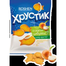 Крекер Хрустик зі свіжою цибулею ККФ 180г/18шт