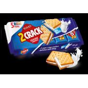 Крекер 2 Crack з молочно-ванільною начинкою ККФ 235г/14шт