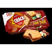 Крекер 2 Crack з начинкою какао-горіх ККФ 235г/14шт