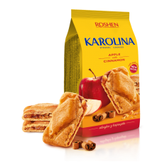 Здобне печиво ROSHEN Karolina з яблуком та корицею ККФ 168г/16шт