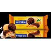 Здобне печиво Karolina з желейною начинкою зі смаком апельсину ККФ 135г /21шт
