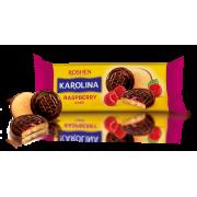 Здобне печиво Karolina з желейною начинкою зі смаком малини ККФ 135г /21шт