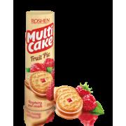 Печиво-сендвіч ROSHEN Multicake з начинкою малина-крем ККФ 195г/28шт