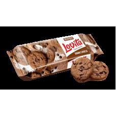 Здобне печиво ROSHEN Lovita Classic Cookies з какао та шматочками глазурі ВКФ 150г/16шт