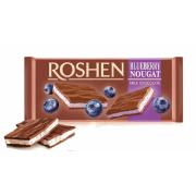 Шоколад ROSHEN Молочний з чорничною нугою ВКФ 90г/20шт FP
