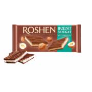 Шоколад ROSHEN Молочний з горіховою нугою ВКФ 90г/20шт FP