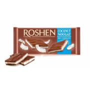 Шоколад ROSHEN Молочний з кокосовою нугою ВКФ 90г/20шт FP