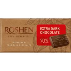 Шоколад ROSHEN екстрачорний 70% ВКФ 90/22шт