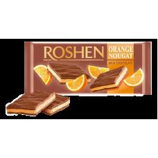 Шоколад ROSHEN Молочний з апельсиновою нугою ВКФ 90г/20шт FP