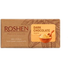 Шоколад ROSHEN чорний з сезамом ВКФ 90/22шт