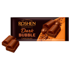 Шоколад ROSHEN Пористий екстрачорний ВКФ 80г/20шт FP