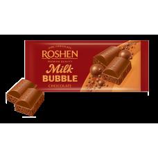 Шоколад ROSHEN Пористий молочний ВКФ 80г/20шт FP
