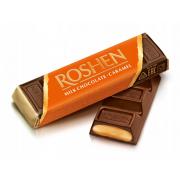 Батон ROSHEN молочно-шоколадний з карамельною начинкою ВКФ 40г/180шт