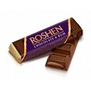 Батон ROSHEN шоколадний з ромовою начинкою ВКФ 43г/180шт