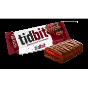 """Шоколад Roshen молочний TIDBIT з начинкою зі смаком """"Вишневий Брауні"""" ВКФ 50г/28шт"""