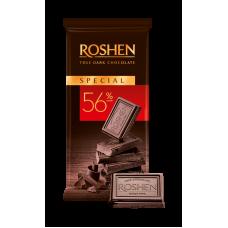 Шоколад ROSHEN чорний Special 56% ВКФ 85г/35шт
