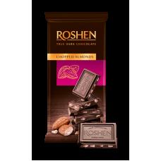 Шоколад ROSHEN чорний з підсоленим подрібненим мигдалем ВКФ 85г/35шт