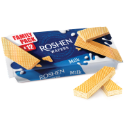 Вафлі ROSHEN Wafers молоко ВКФ 216г/24шт