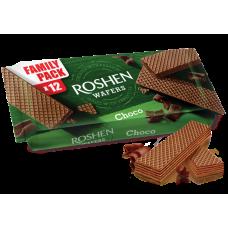 Вафлі ROSHEN Wafers шоколад ВКФ 216г/11шт