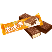 Вафельні батончики Roshetto milk ВКФ 32г/25шт