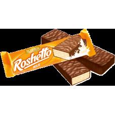 Вафельні батончики Roshetto milk ВКФ 34г/25шт