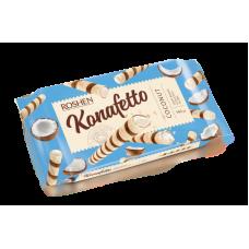 Вафельні трубочки ROSHEN Konafetto з кокосовою начинкою ВКФ 140г/15шт