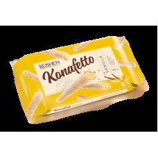 Вафельні трубочки ROSHEN Konafetto з ванільною начинкою ВКФ 140г/15шт