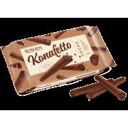 Вафельні трубочки ROSHEN Konafetto cocoa з начинкою крем-какао ВКФ 140г/15шт