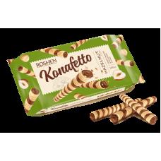 Вафельні трубочки ROSHEN Konafetto з горіховою начинкою ВКФ 140г/15шт