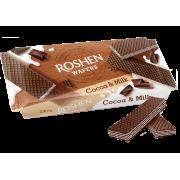 Вафлі ROSHEN Wafers какао-молоко ККФ 216г/11шт